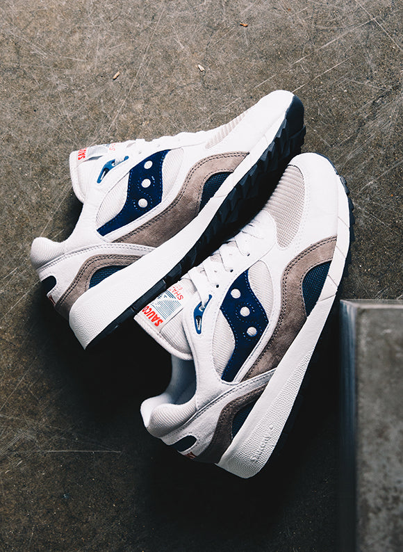 Saucony Shadow 6000 White / Grey
