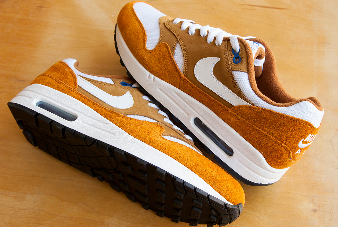 Nike x Atmos Air Max 1 Premium Retro / Dark Curry