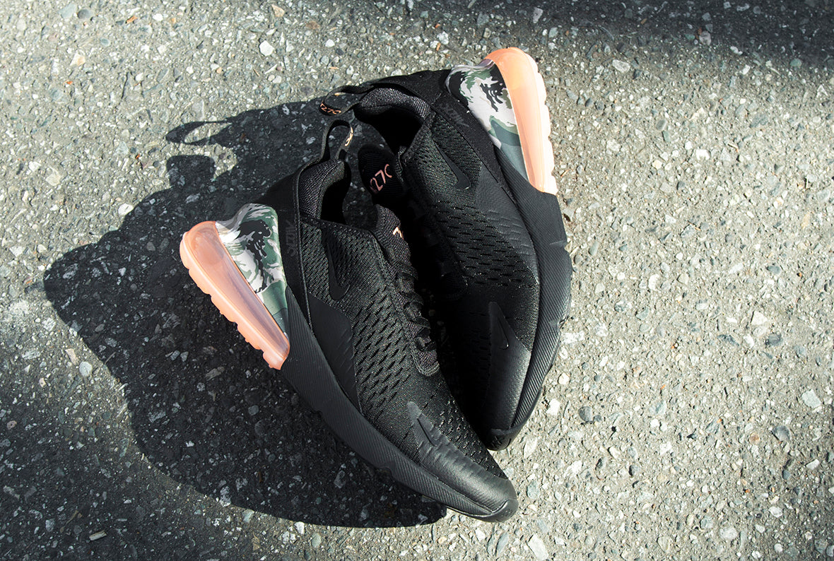 Nike Air Max 270 Black / Sunset Tint