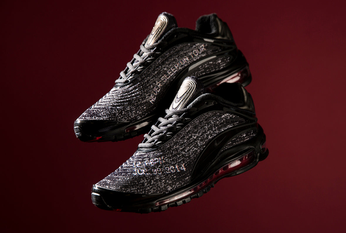 low priced 7e98d 0c1d0 Nike Air Max Deluxe Skepta Black   Black