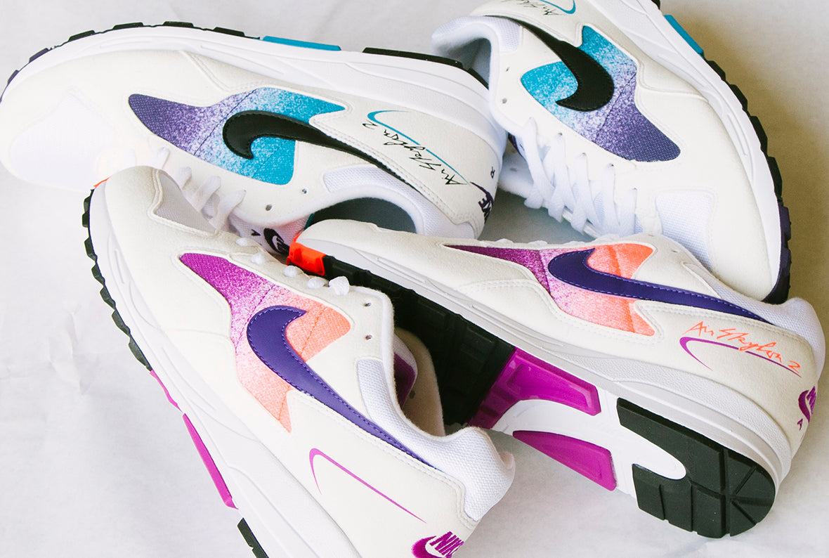 Nike Air Skylon II QS | Blue Lagoon & Solar Red
