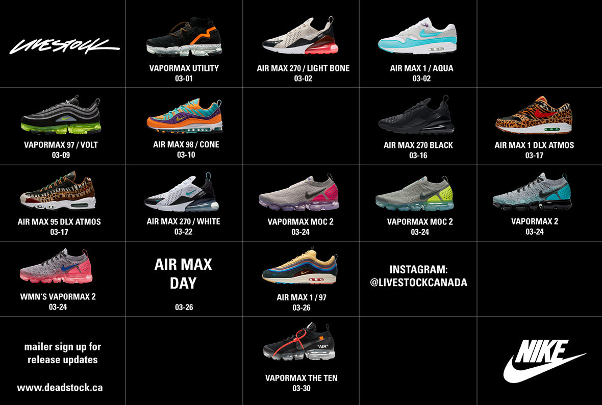 quality design 29b19 f7078 Subscribe to be notified about Air Max Day shoes, future releases from Nike,  and more