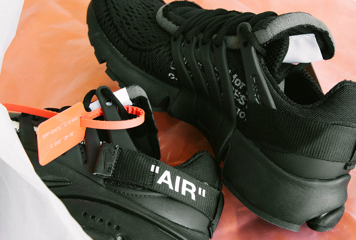 "Nike x Off White ""The Ten"": Air Presto / Black"