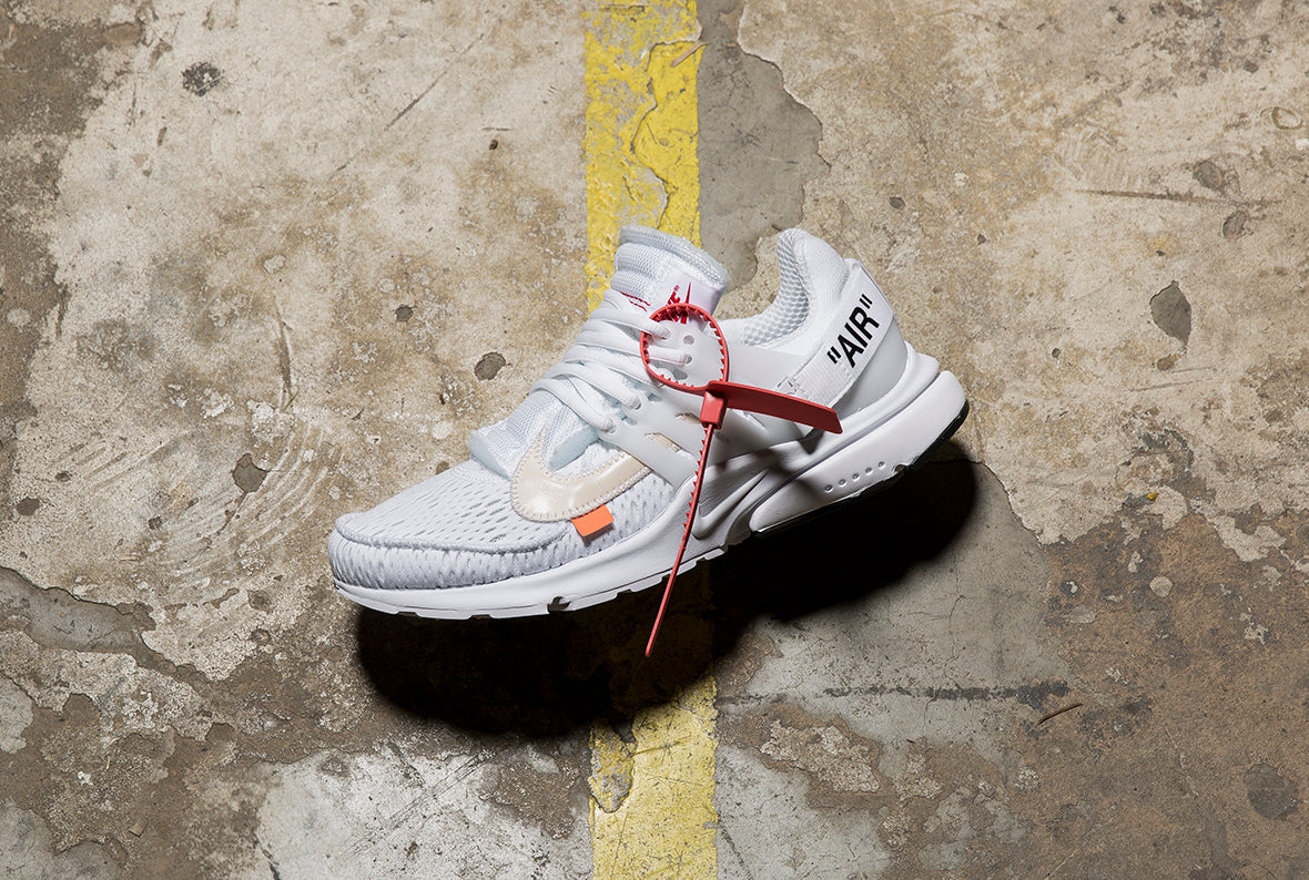 Nike x OFF WHITE The 10: Air Presto / White