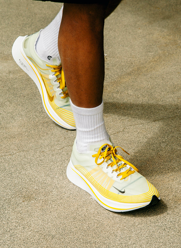 Nike Zoom Fly SP / Dark Citron