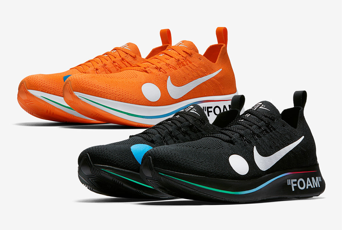 NikeLab x Off White World Cup Zoom Fly Mercurial Flyknit