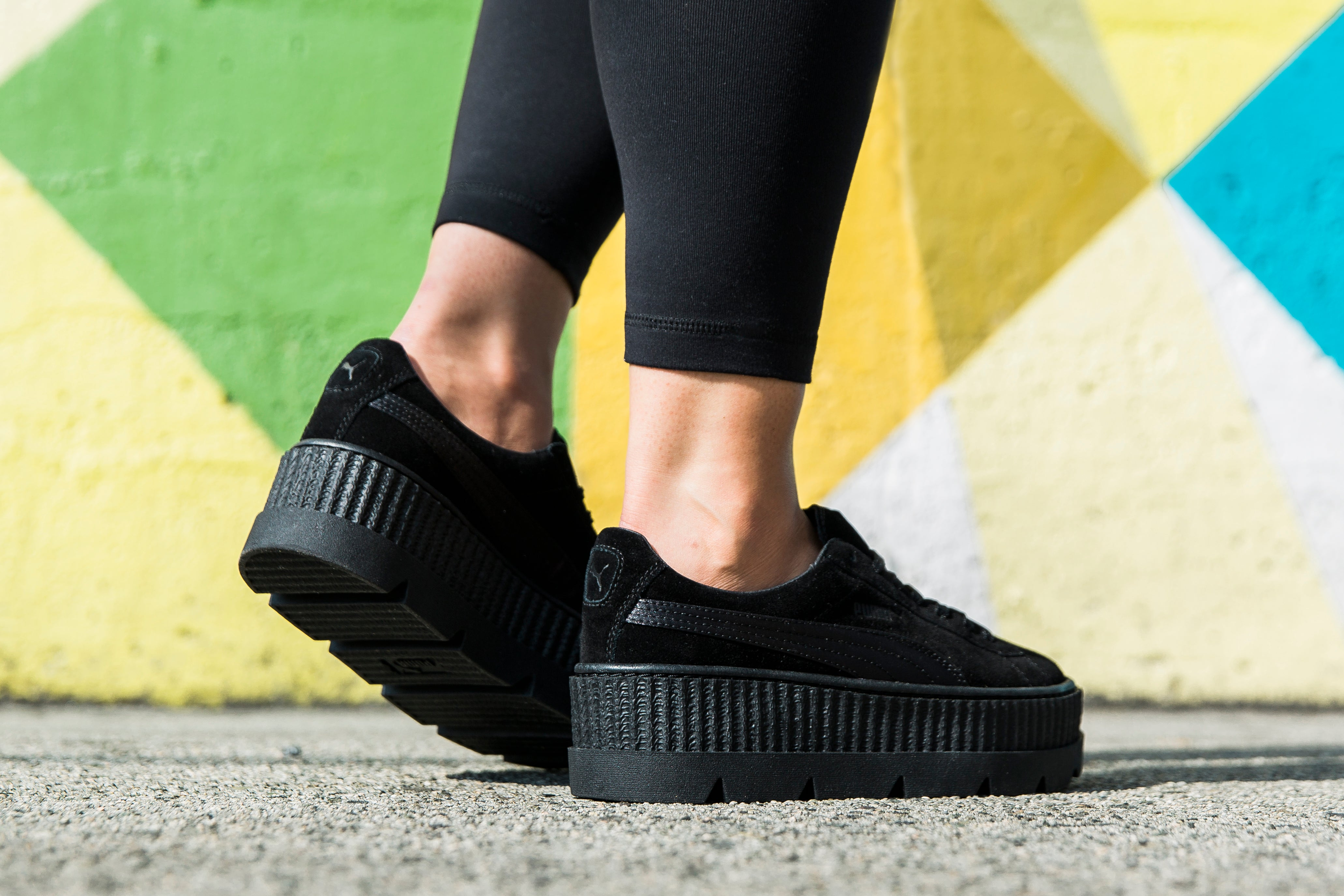 lowest price 6bd48 3102c PUMA FENTY CLEATED SUEDE CREEPER – Deadstock.ca