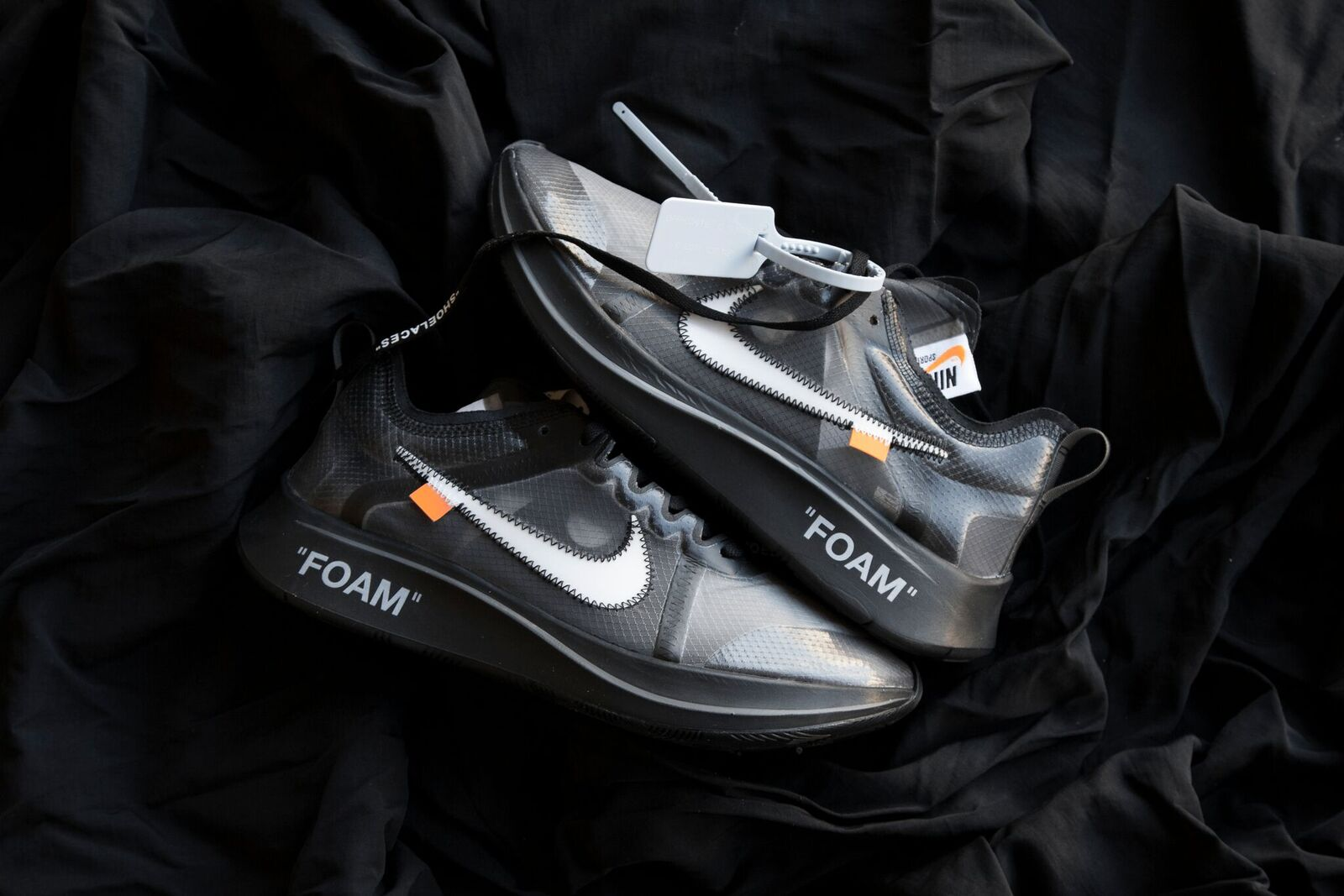 Nike x Off-White The Ten: Zoom Fly Black | RAFFLE