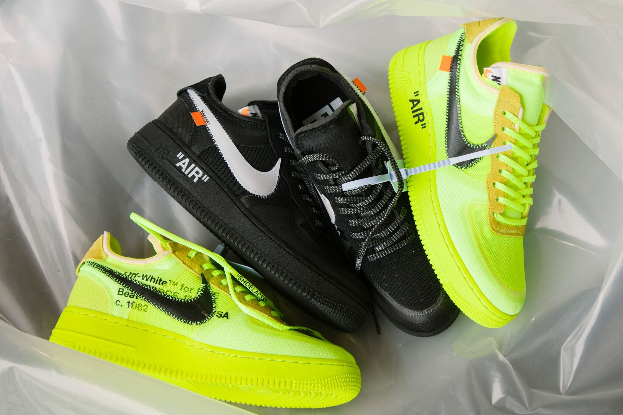 sports shoes ef633 b5fe7 Nike x Off-White Air Force 1 Low