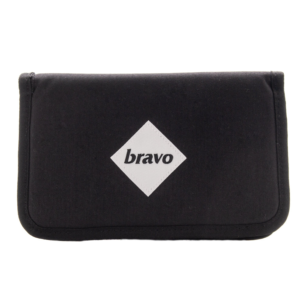 Style code 007AWICRDBWFW18. Bravo Wired Block I Cordura Black / White