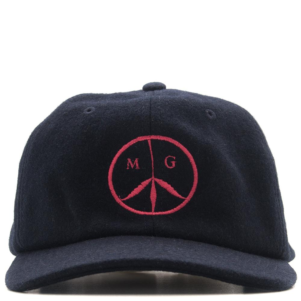 MISTER GREEN WOOL PEACE CAP / NAVY