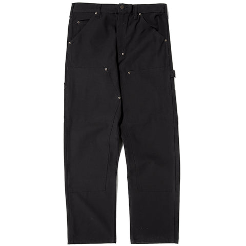 STAN RAY DOUBLE KNEE PAINTER PANT / BLACK DUCK