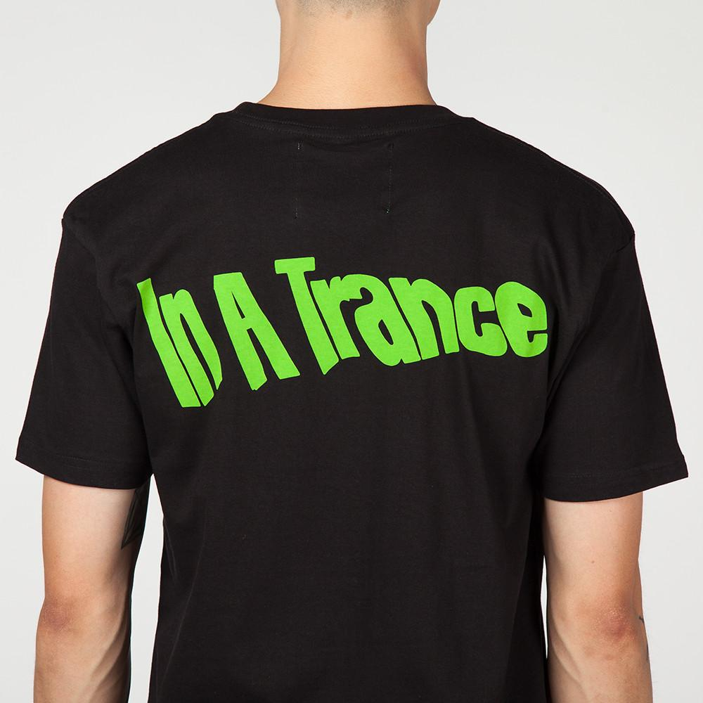 MISTER GREEN IN A TRANCE T-SHIRT / BLACK