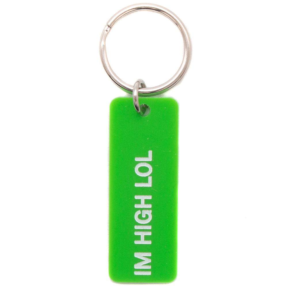 MISTER GREEN 2 SIDED KEY CHAIN / GREEN