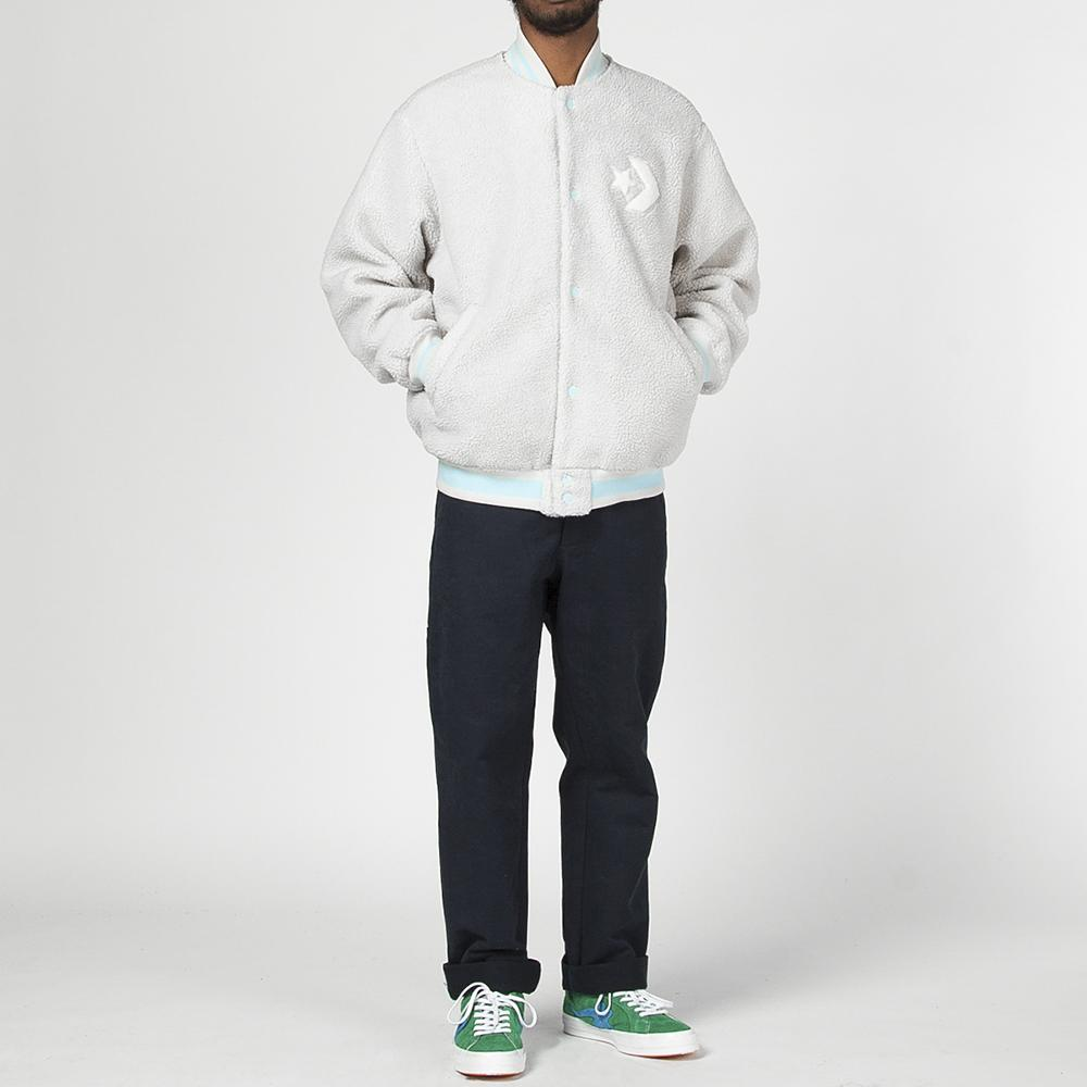 Style code 10006808A01. CONVERSE X TYLER THE CREATOR BOMBER / EGRET