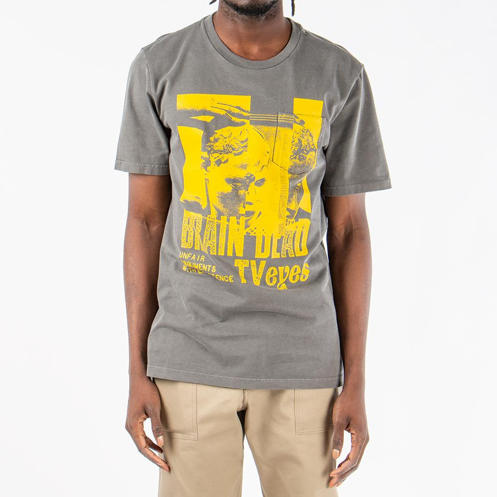 Converse Incubate x Brain Dead Pocket T-shirt / Anthracite