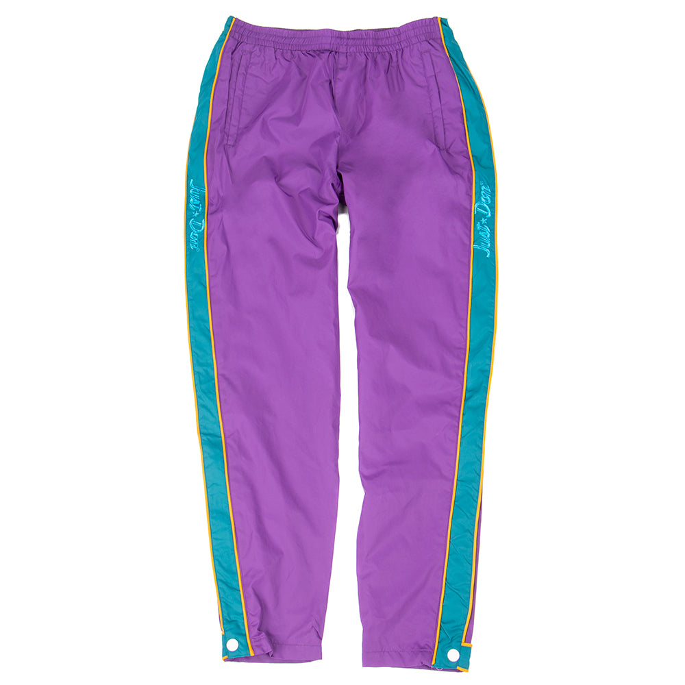 Style code 10016958-A01. Converse Incubate x Just Don Track Pant / Tillandsia Purple