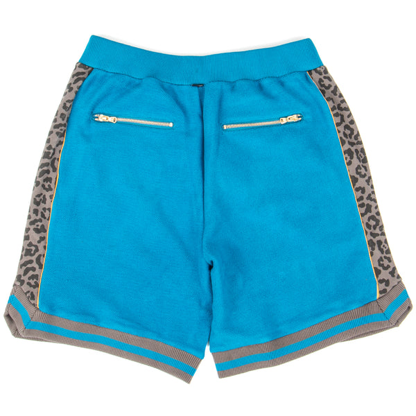 Style code 10016959-A01. Converse Incubate x Just Don Sweat shorts / Mykonos Blue