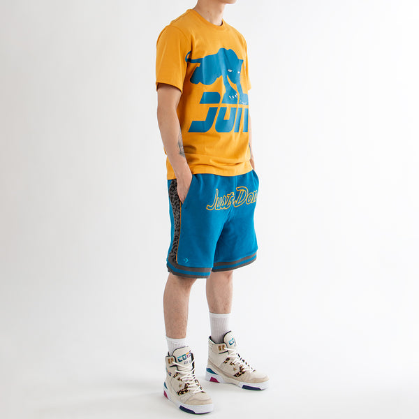 Converse Incubate x Just Don Sweat shorts / Mykonos Blue