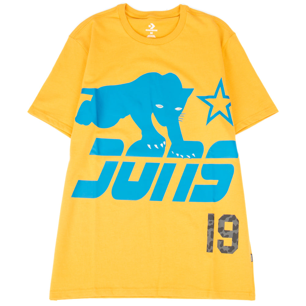 Style code 10016960-A01. Converse Incubate x Just Don T-shirt / Golden Glow
