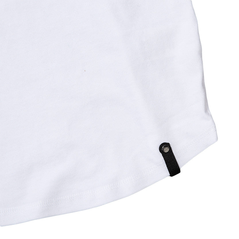 {ie RAGLAN T-SHIRT / WHITE SUPIMA - 4