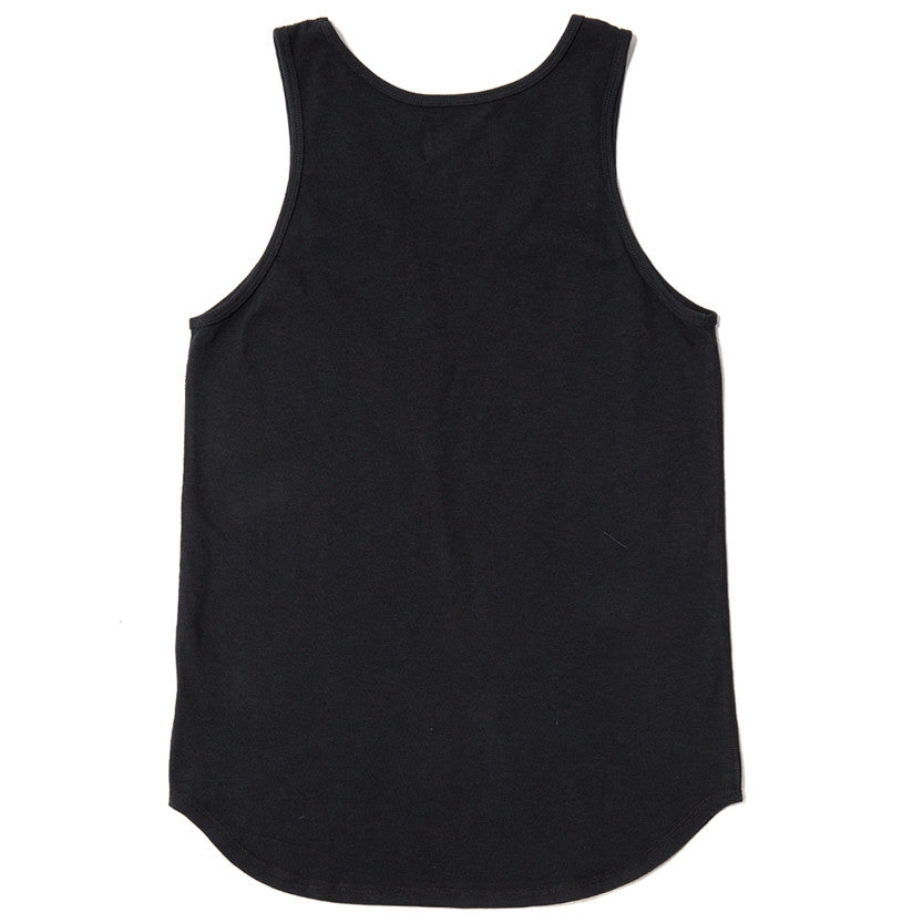 {ie TANK / BLACK SLUB - 2