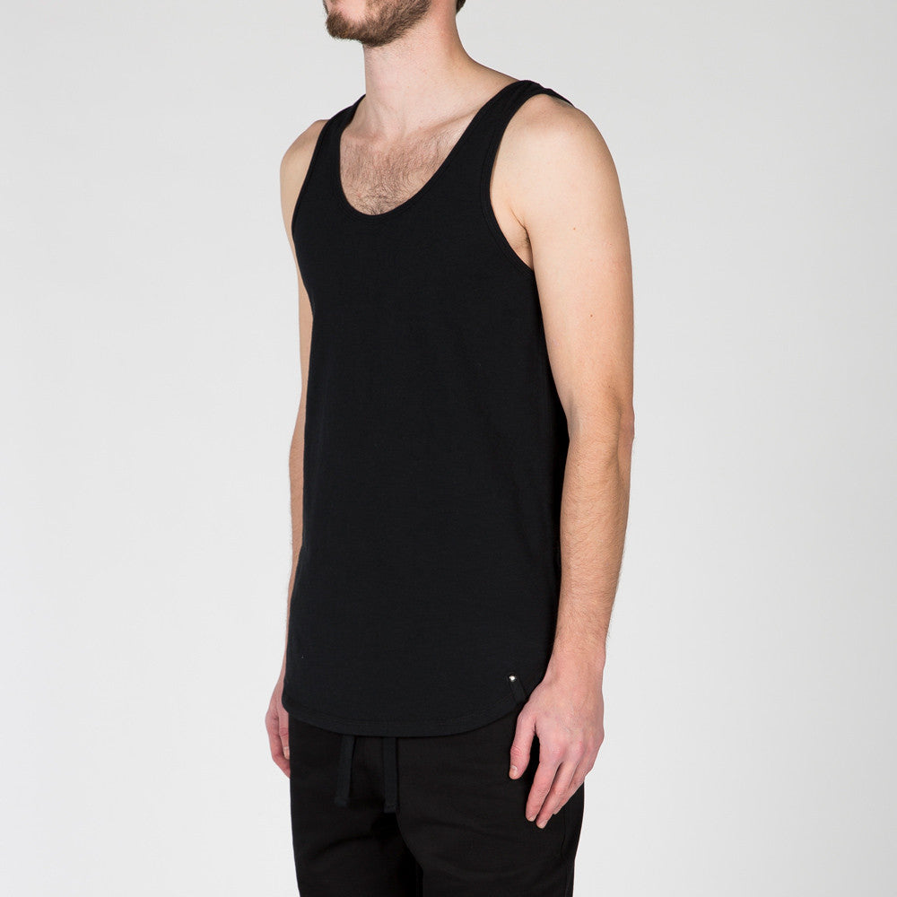 {ie TANK / BLACK SLUB