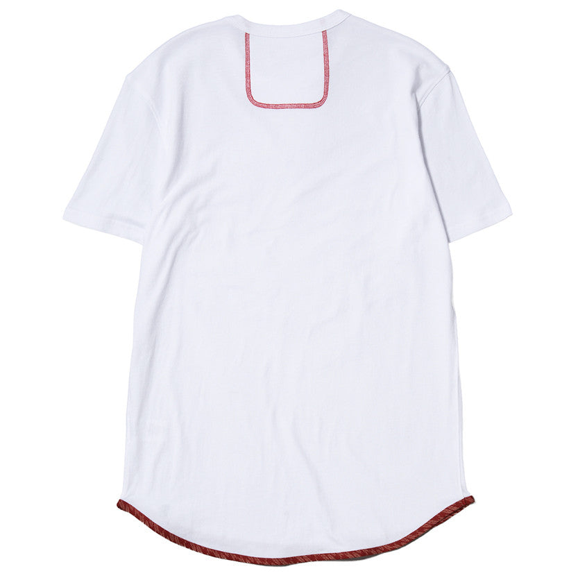 {ie TRIANGLE T-SHIRT / WHITE SUPIMA - 2