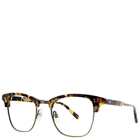 GARRETT LEIGHT LINCOLN FRAME DARK TORTOISE / ANTIQUE GOLD - 1