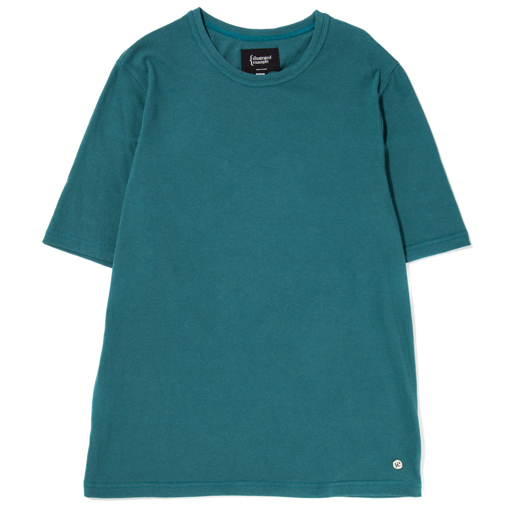 Style code 1030S18TEA. {ie BOXY T-SHIRT / TEAL
