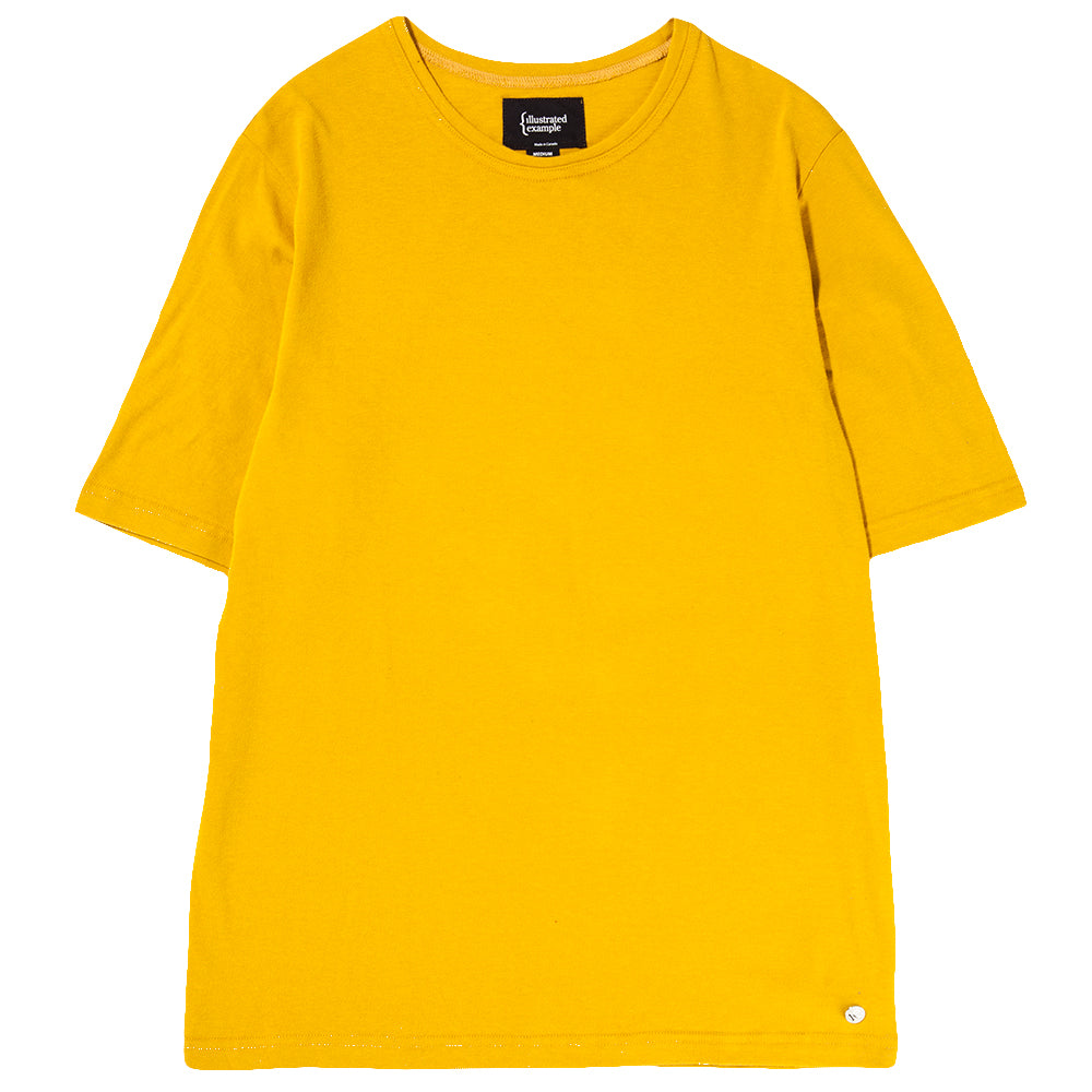 Style code 1030S18YEL. {ie BOXY T-SHIRT / YELLOW