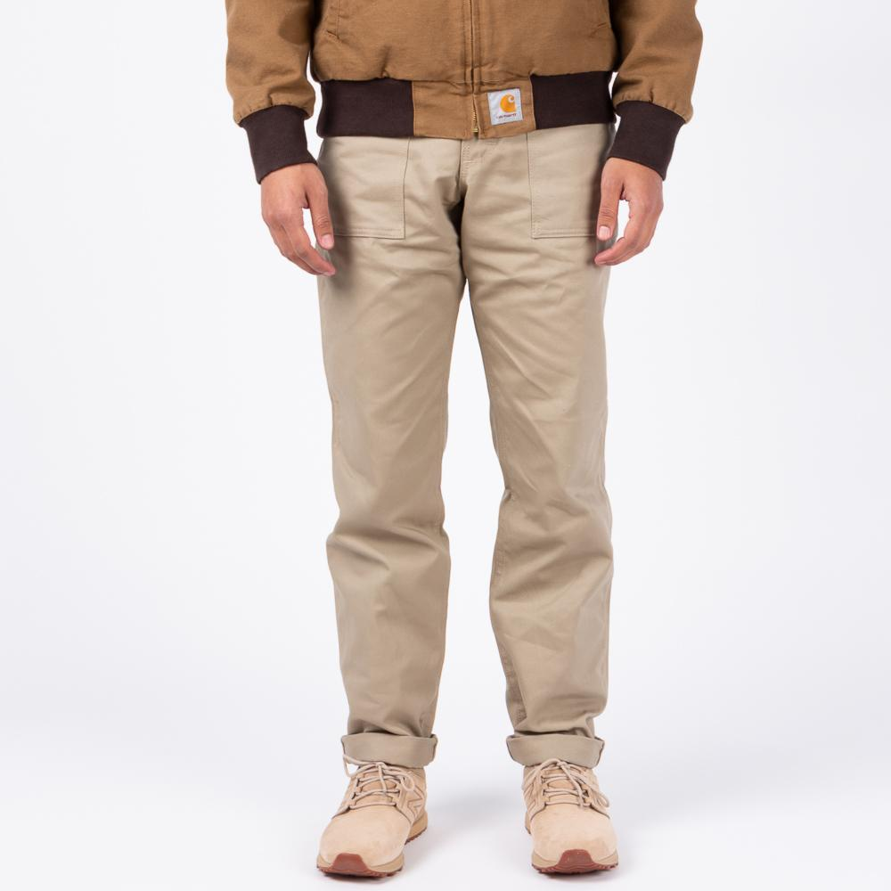 Style code 120054S18. Stan Ray 1200 Taper Fatigue Pant / Khaki Twill