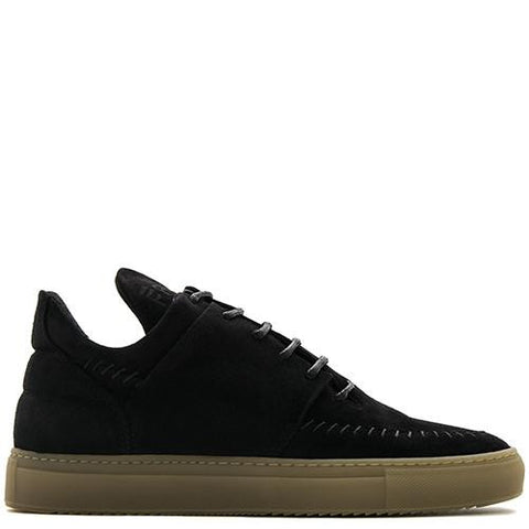 FILLING PIECES LOW TOP NATIVE SUEDE / BLACK - 1