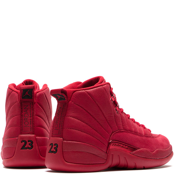 Style code 130690-601. Jordan 12 Retro Gym Red / Black