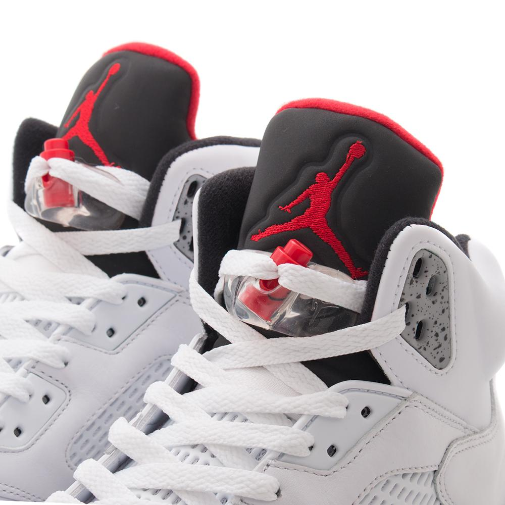 JORDAN 5 RETRO WHITE CEMENT / WHITE