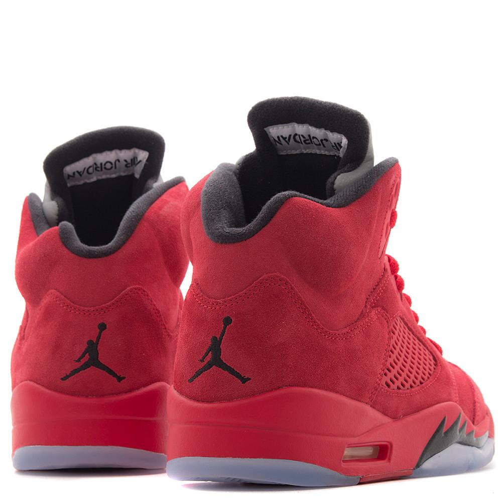 JORDAN 5 RETRO SUEDE / UNIVERSITY RED