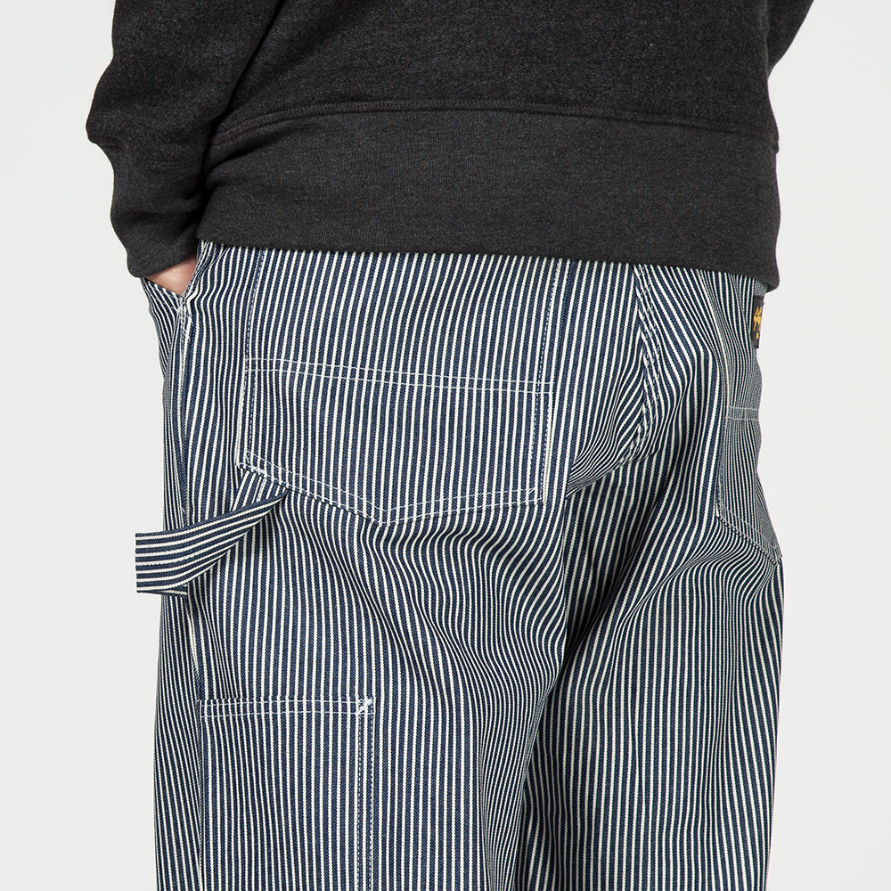 STAN RAY SINGLE KNEE PAINTER PANT / HICKORY STRIPE