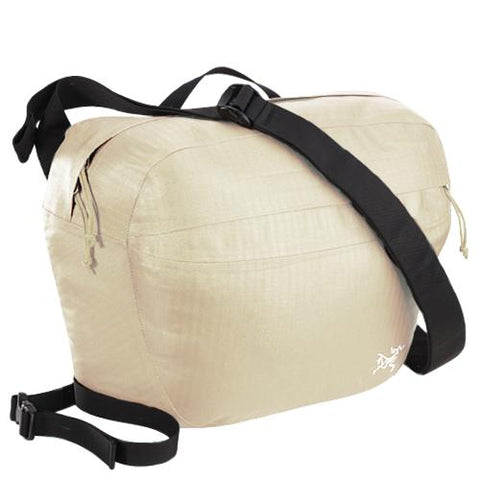 ARCTERYX LUNARA 10 WEATHER RESISTANT SHOULDER BAG / ALABASTER