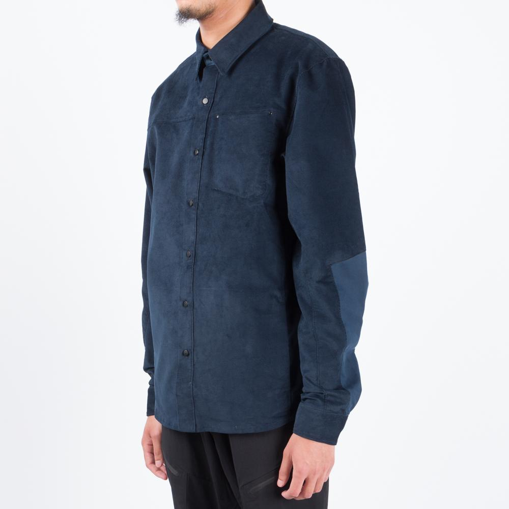 Arc'teryx Merlon Long Sleeve Corduroy Shirt / Kingfisher