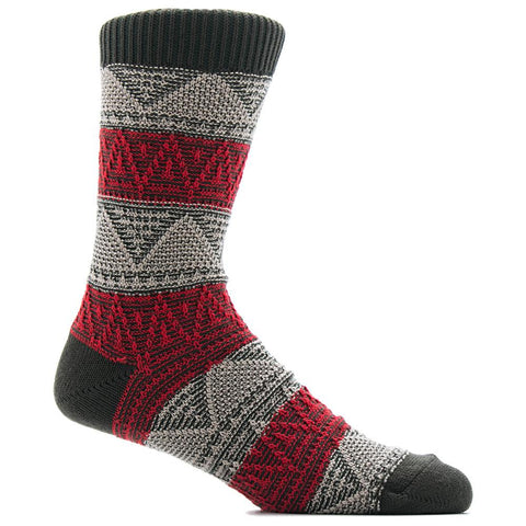 ANONYMOUS ISM MOUNTAIN RANGE CREW SOCK / MOSS - 1