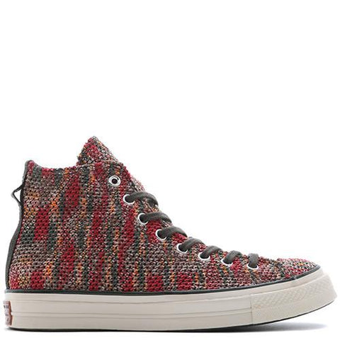 CONVERSE FIRST STRING X MISSONI CHUCK TAYLOR ALL STAR '70 HI / RED - 1