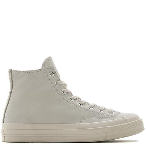 CONVERSE CHUCK TAYLOR ALL STAR '70 LEATHER SUEDE HI / EGRET . style code 153846C