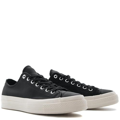 CONVERSE CHUCK TAYLOR ALL STAR '70 LEATHER SUEDE OX / BLACK - 3