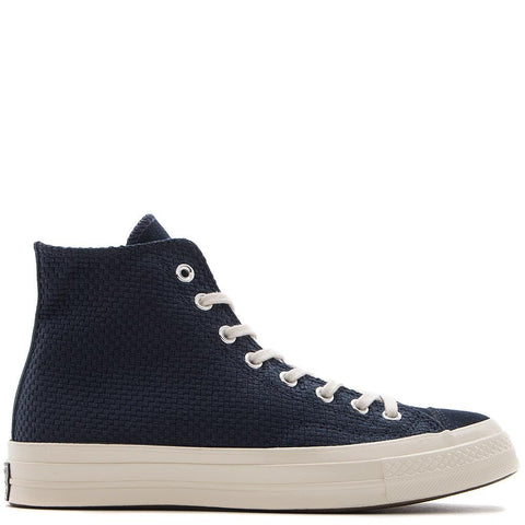 style code 155451C. CONVERSE CHUCK TAYLOR ALL STAR 70 POLY SUEDE HI / OBSIDIAN