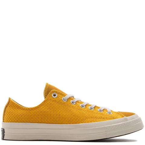 style code 155452C. CONVERSE CHUCK TAYLOR ALL STAR 70 POLY SUEDE OX / UNIVERSITY GOLD