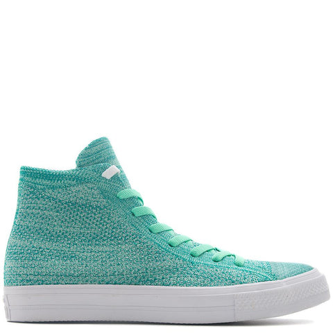 CONVERSE CHUCK TAYLOR ALL STAR X FLYKNIT HIGH / GREEN GLOW