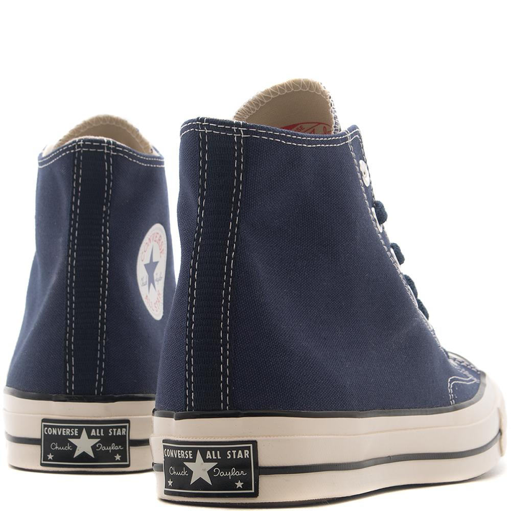 style code 157438C. CONVERSE CHUCK TAYLOR ALL STAR 70'S HI / MIDNIGHT NAVY