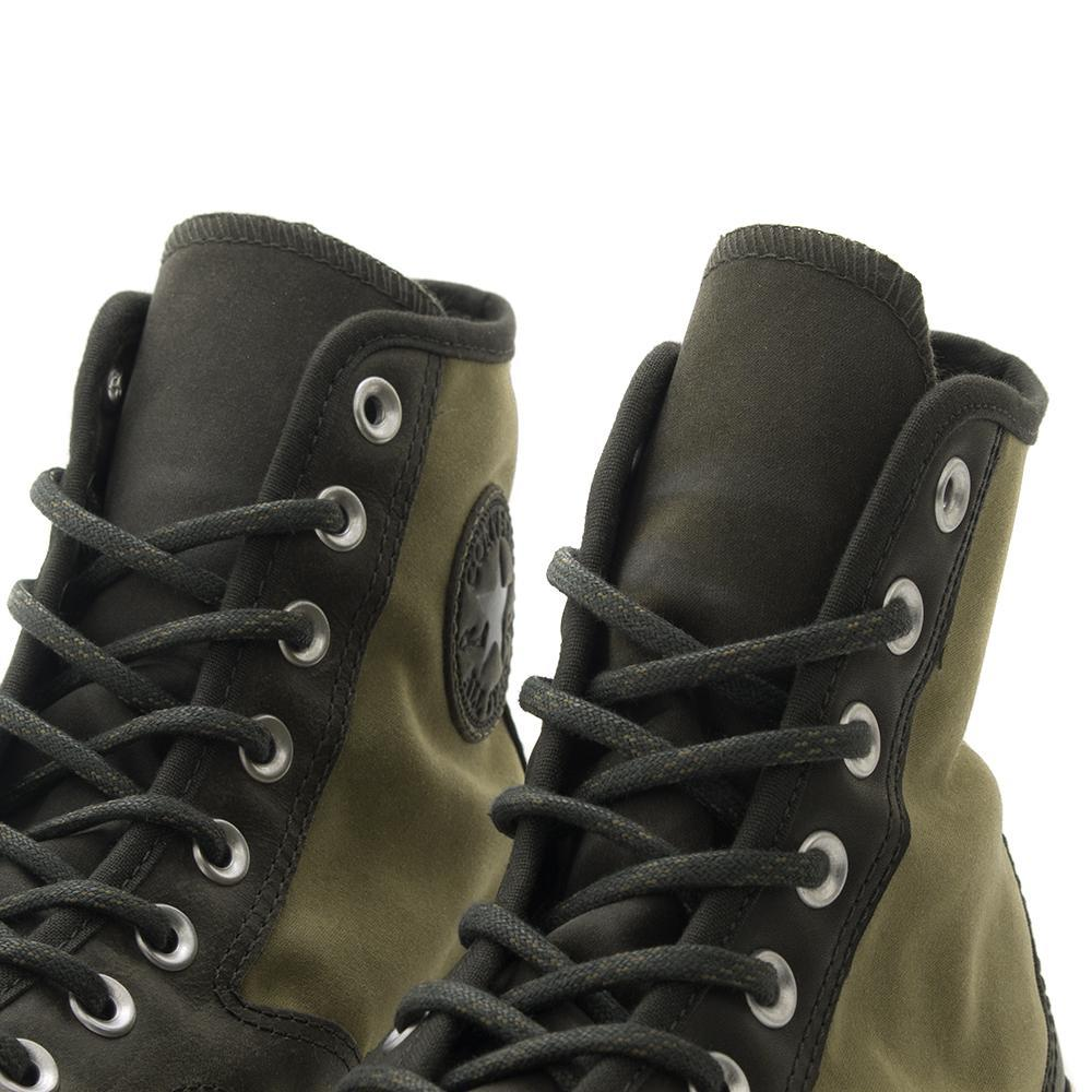 CONVERSE CTAS '70 LEATHER NYLON HIKER HI / MEDIUM OLIVE