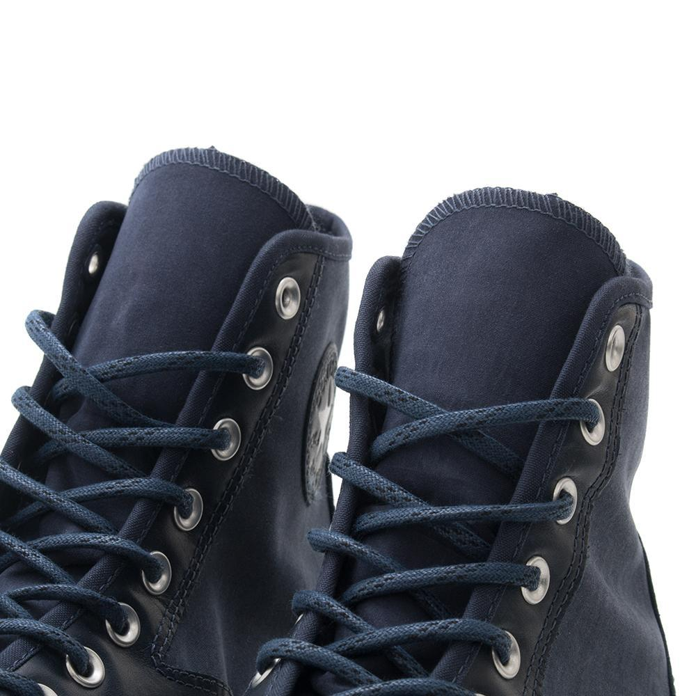 CONVERSE CTAS '70 LEATHER NYLON HIKER HI / ATHLETIC NAVY