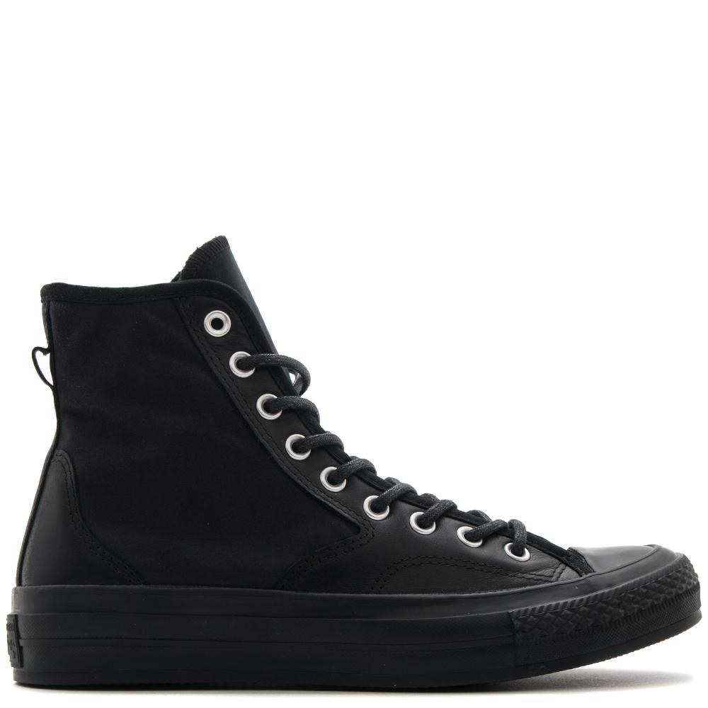 Style code 157487C. CONVERSE CTAS '70 LEATHER NYLON HIKER HI / BLACK